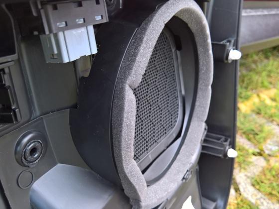 Türverkleidung demontieren/Lautsprecher Grösse